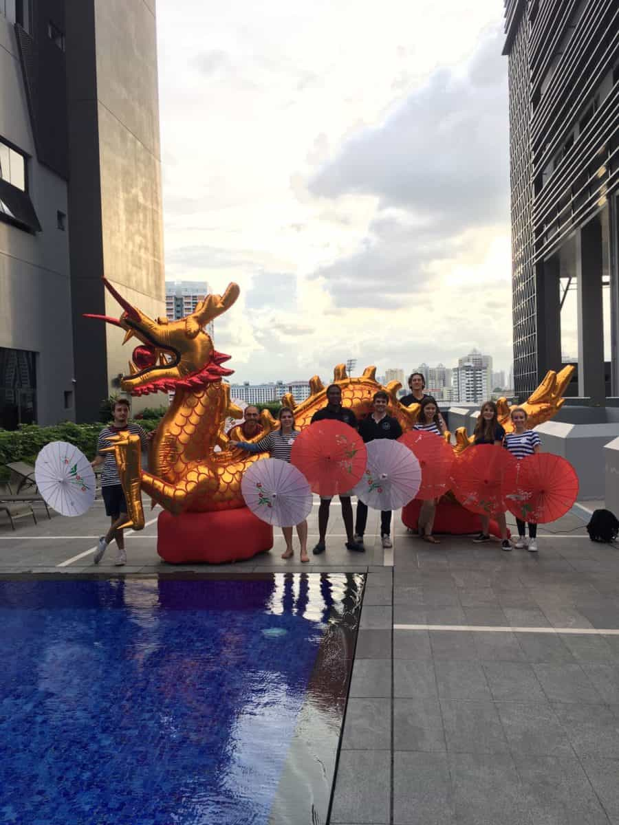 Chab Events Team CNY Dragon