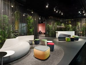 Fair stand Walter Knoll - Orgatec 2014 Interior design: Ippolito Fleitz Group Identity Architects