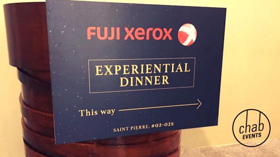 Fuji Experiential Dinner
