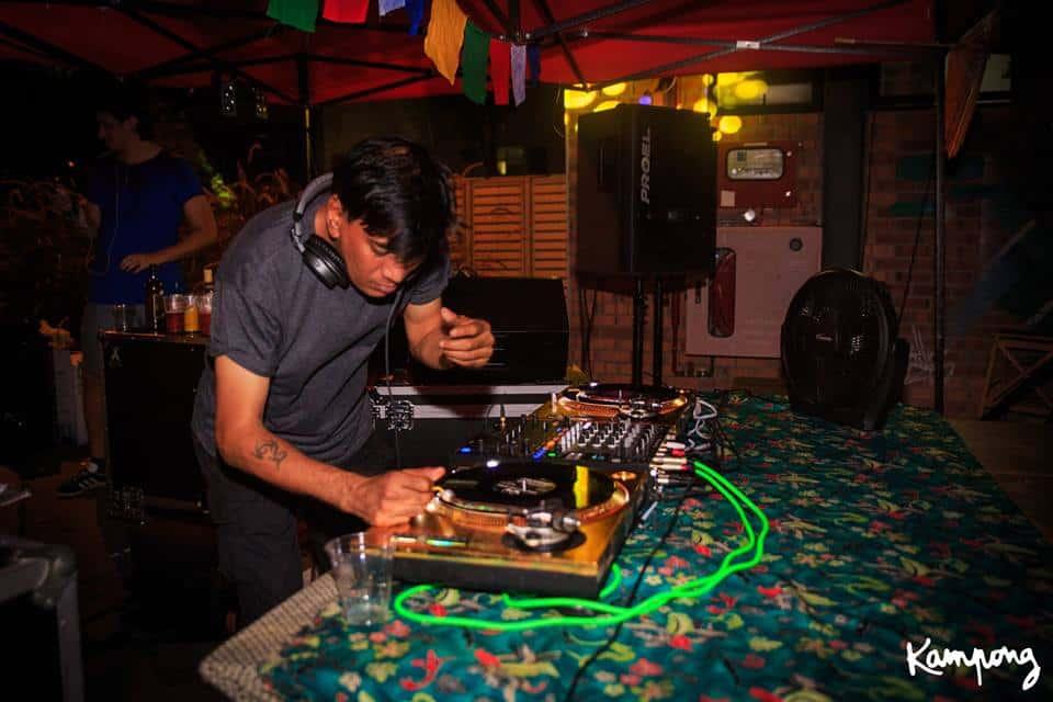 Kampong only vinyl DJ