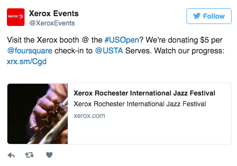 Xerox-Event Booth Attendees