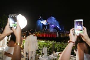 event-management-dinner-singapore-crane-dance