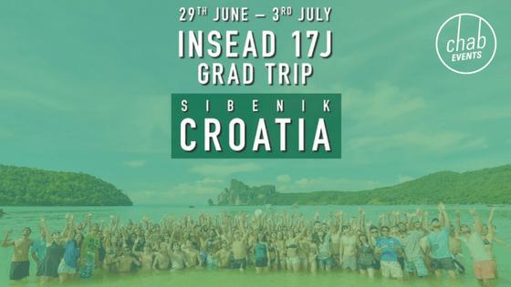 INSEAD Croatia Grad Trip